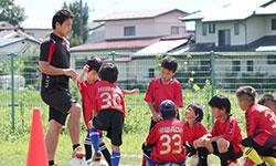 くらしの活動・福島ユナイテッドFC ドリームサッカー教室