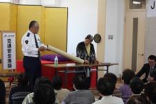 高齢者向け交通安全教室